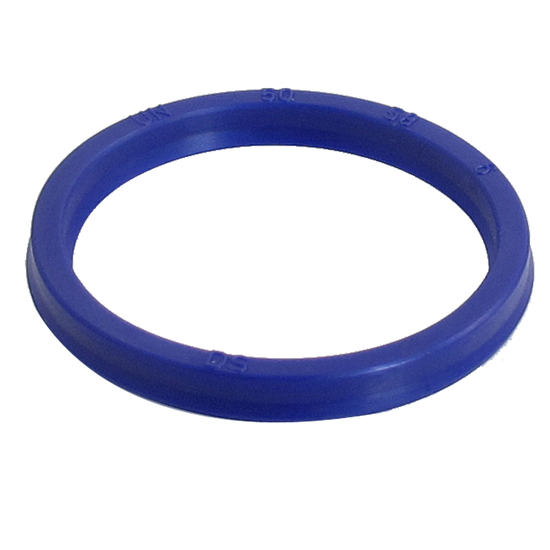 Blue PU 50mm x 58mm x 6mm Double Lip Sealing Cushion Dust Seal Ring