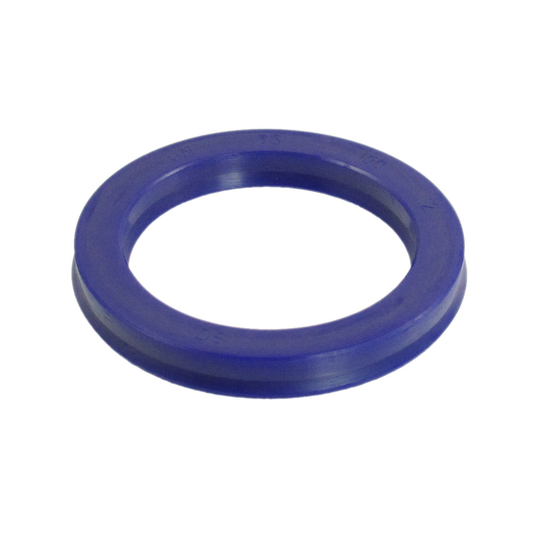Blue PU 75mm x 100mm x 12mm Double Lip Sealing Cushion Dust Seal Ring
