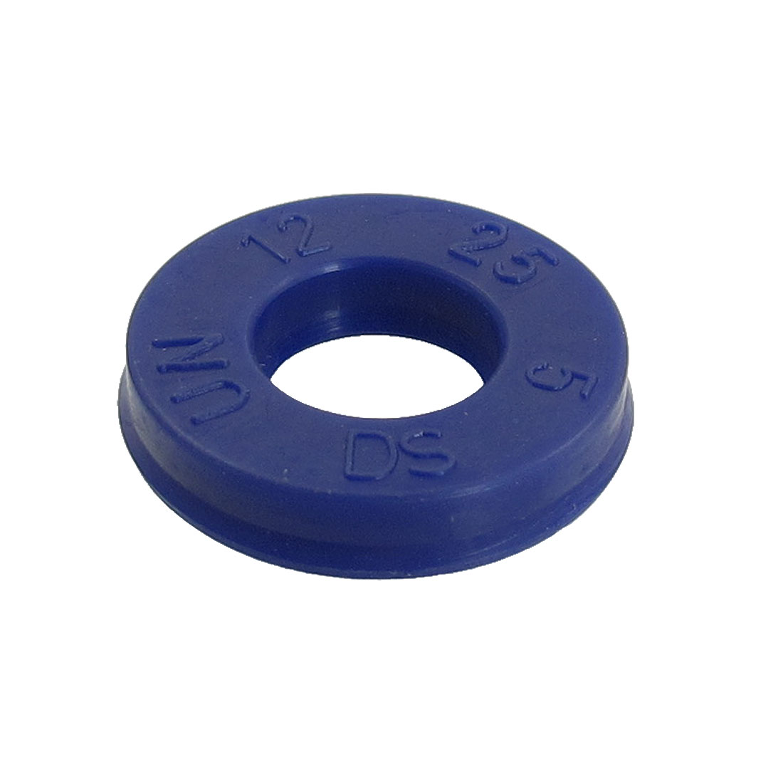 Blue PU 12x25x5mm Double Lip Sealing Cushion Dust Seal Ring