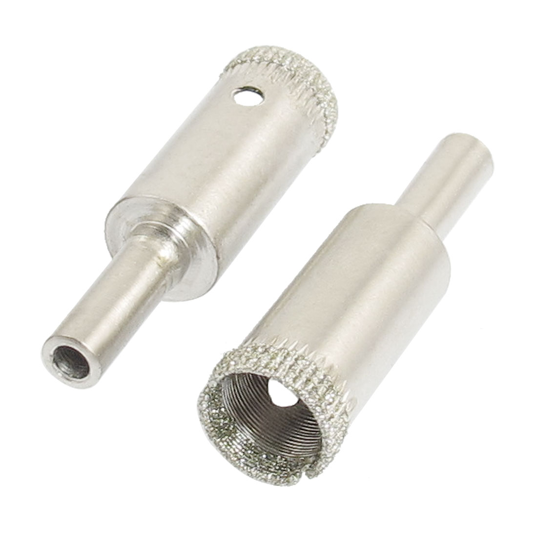 "2 Pcs Diamond Drill Bits 14mm 5/9"" Bottle Glass Tile Granite Hole Saw"