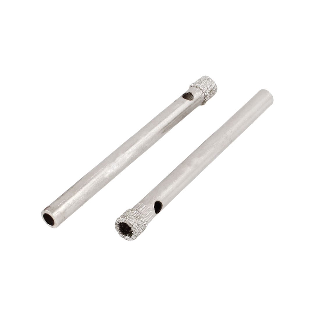 "Diamond Tool Drill Bit Tile Glass Hole Saw 4mm 5/32"" 2 Pcs"