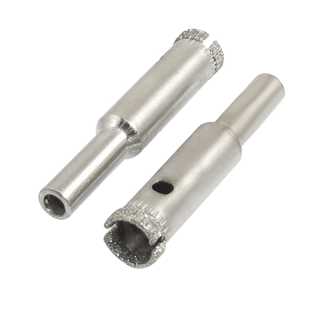 "2 Pcs Diamond Drill Bits 10mm 25/64"" Bottle Glass Tile Granite Hole Saw"