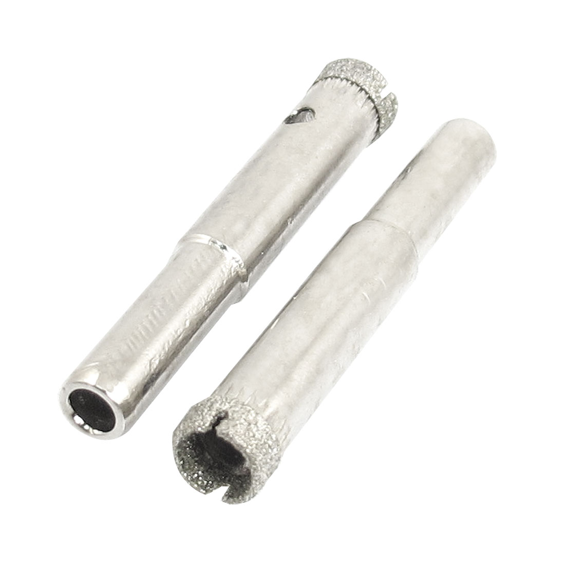 "2 Pcs Diamond Drill Bits 8mm 5/16"" Bottle Glass Tile Granite Hole Saw"