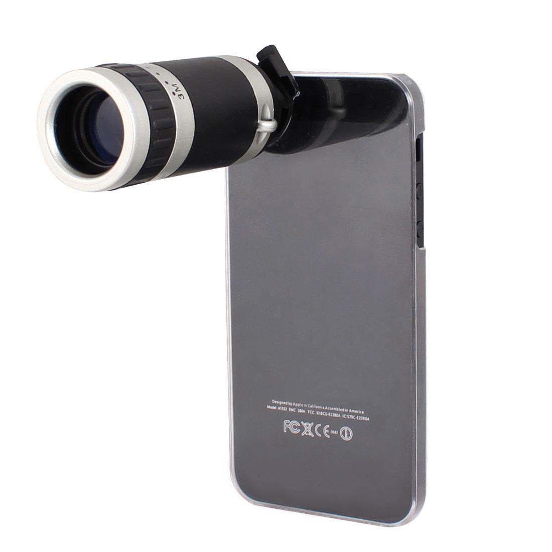Optical Zoom 6X Telescope Camera Lens w Back Case