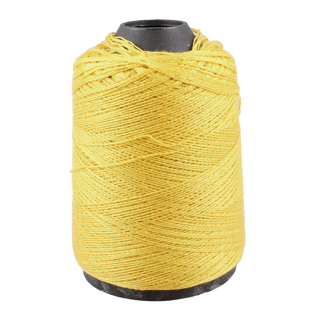 Seamstress Tailor Hand Embroidery Sewing Quilting Yellow Thread Spool
