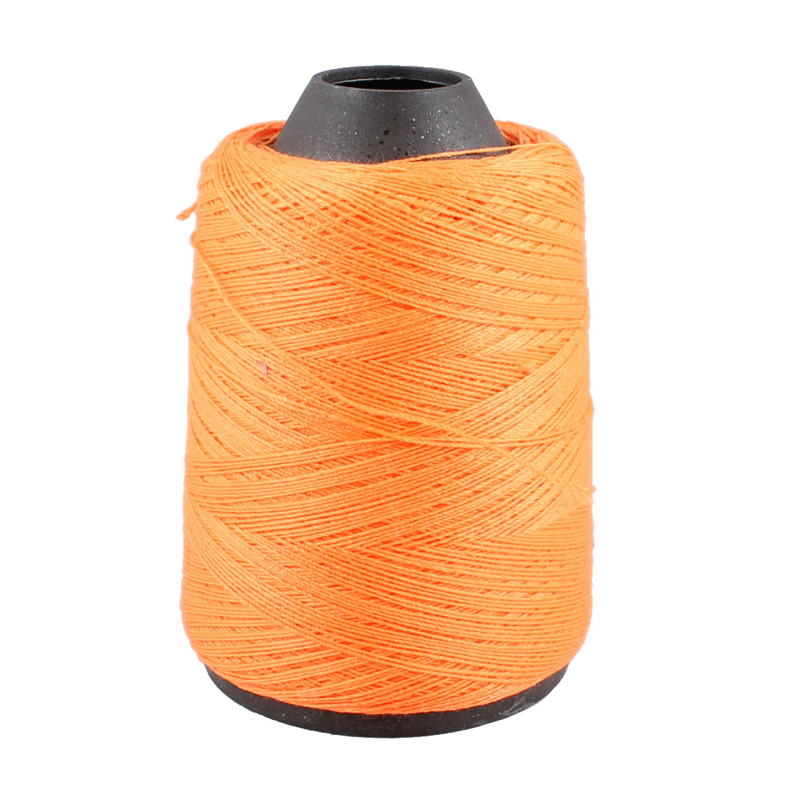 Tapered Plastic Spool Orange String Hand Machine Embroidery Sewing Thread