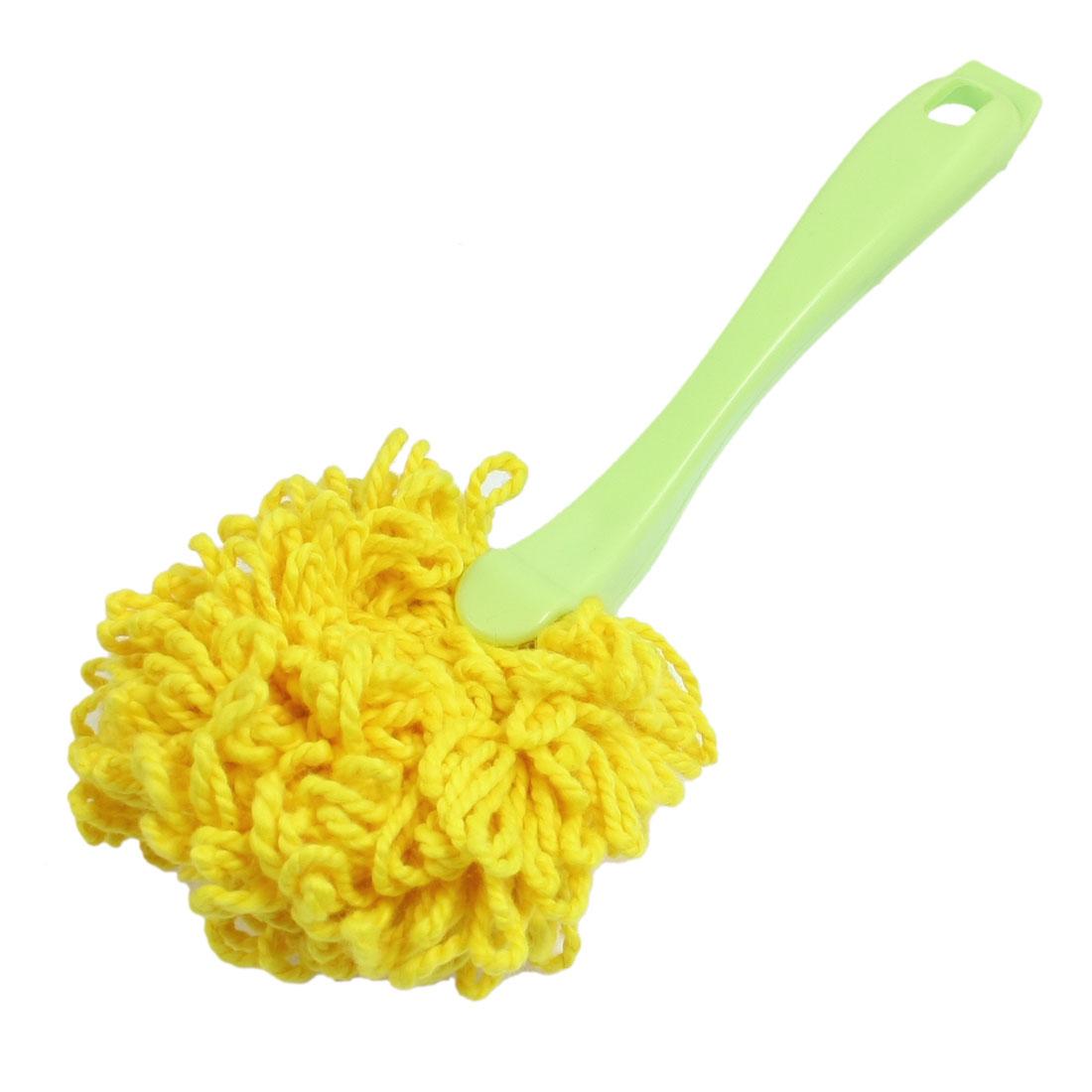 Green Plastic Handle Furniture Book Sweeping Cleaning Brush Broom