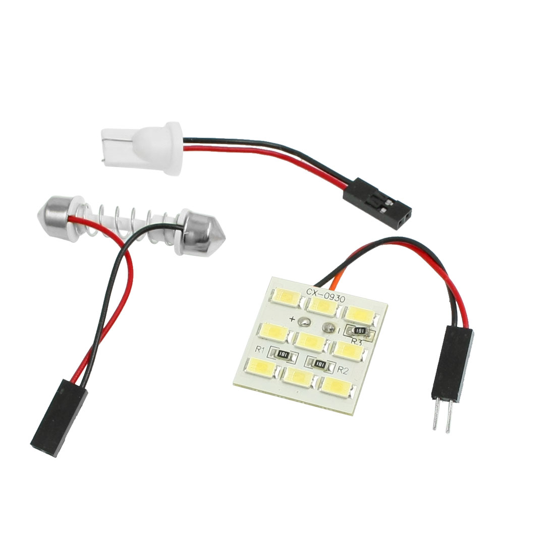 Car Interior Roof White 5630 9 SMD LED Festoon Dome Light Panel Bulb