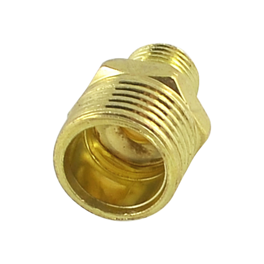 Brass Equal Nipple Male Union Adapter 1/2 to 1/4 for Pneumatic Air Pipe