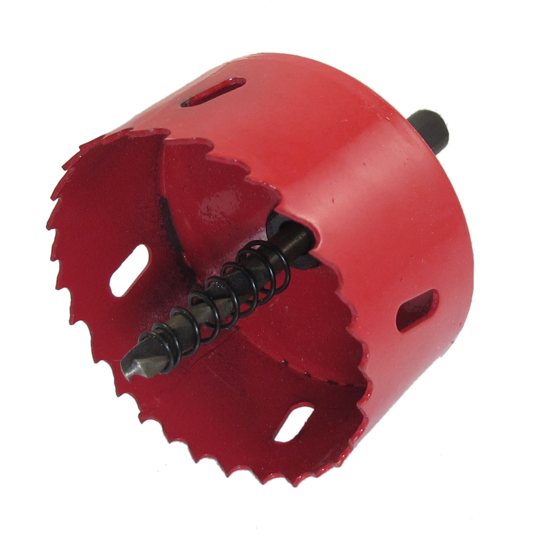 6mm Twist Drill Bit Wood Iron Cutting 70mm Diameter Bimetal Hole Saw Red
