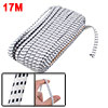Trousers 5mm Width White Black Square Print Garment Elastic Stretchy Band 20 Meters