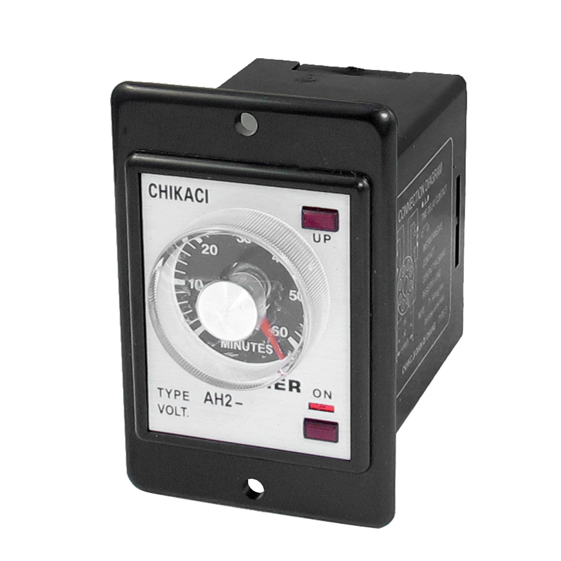 AH2-Y AC 220V 8-Pin DPDT 0-60 Minutes 60Min Power on Delay Timer Time Relay