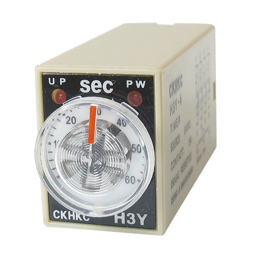 DC 24V 14P Terminals 4PDT 60 Seconds 60S Delay Timing Time Relay H3Y-4