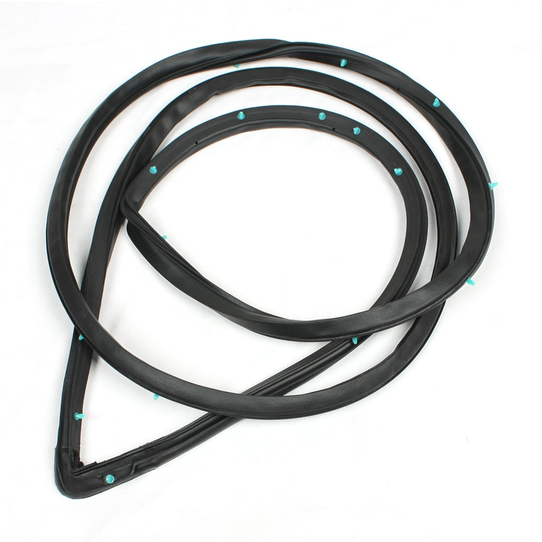 Right Side Front Door Weatherstrip Rubber Seal Black 72310-S84-A01