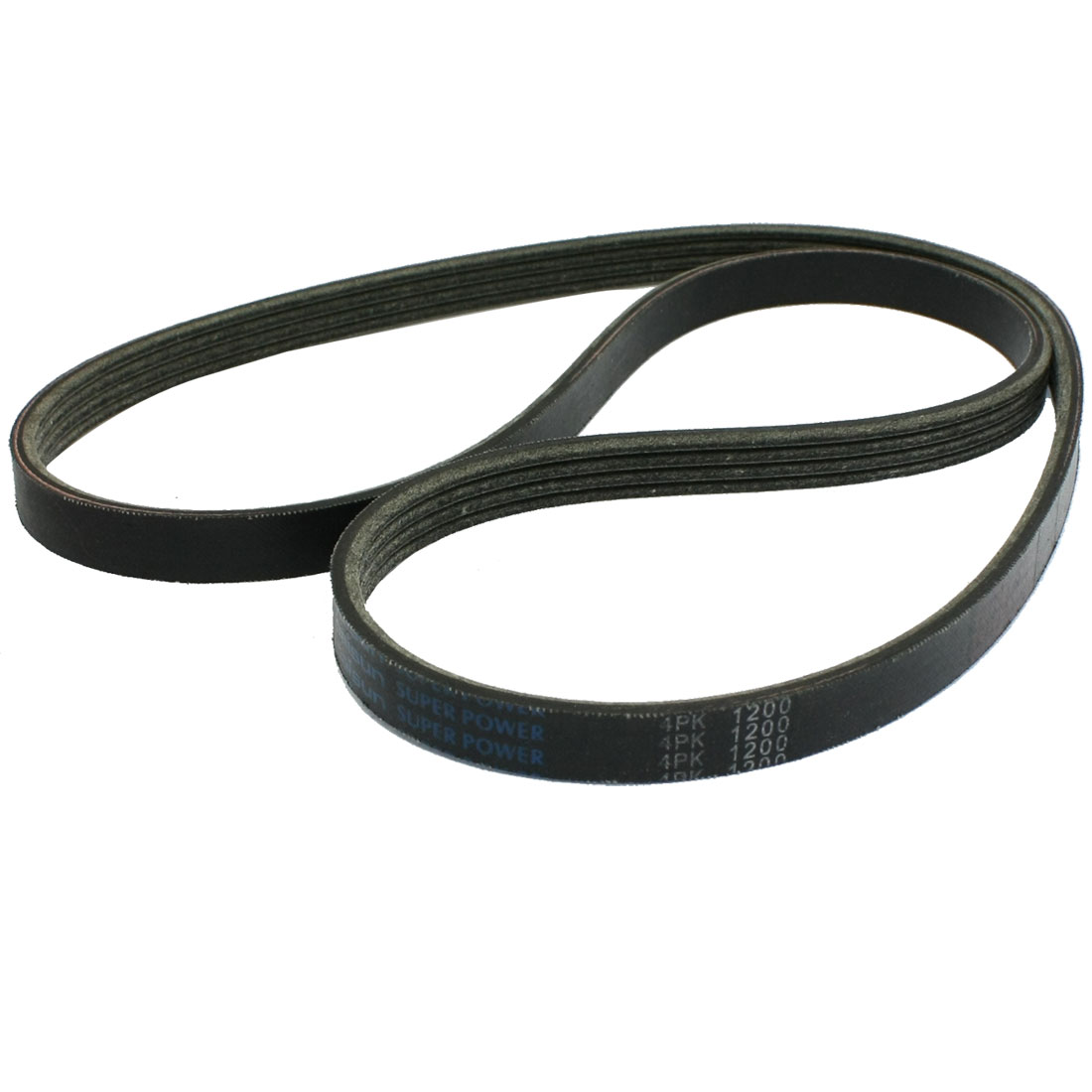 Rubber 4 Ribs Poly-V Serpentine Belt Assembly 4PK1200
