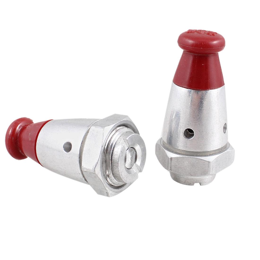 """2 Pcs 3/8"""" NPT Thread Plastic Aluminium Pressure Cooker Safety Valve"""