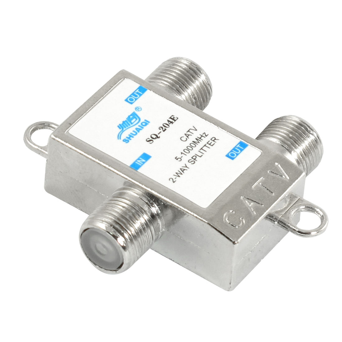 5-1000MHz 1 In 2 Out TV CATV Signal Coupler 2 Way Splitter
