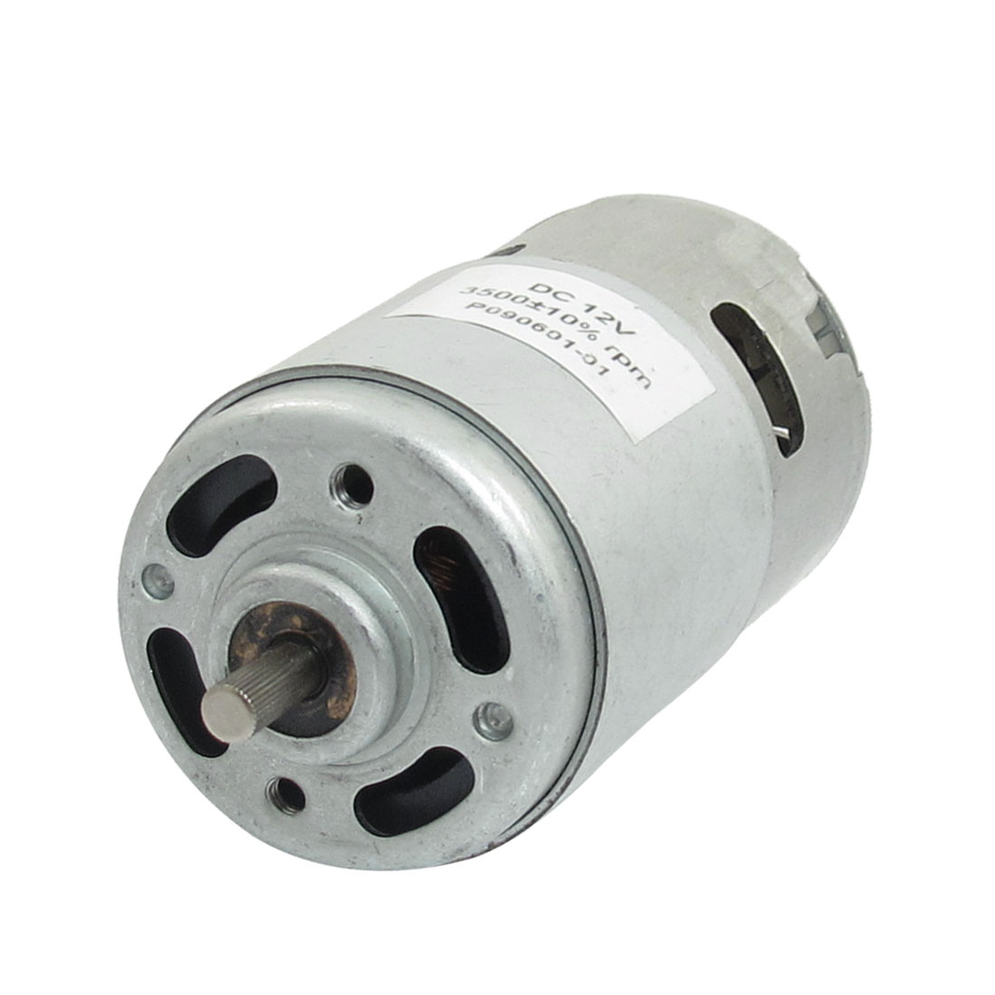 3500 RPM 12V High Torque Cylinder Magnetic Electric Mini DC Motor