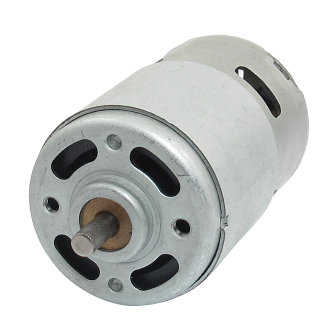 5mm Knurled Shaft 44mm Dia Magnetic Electric Motor 7000RPM DC 24V