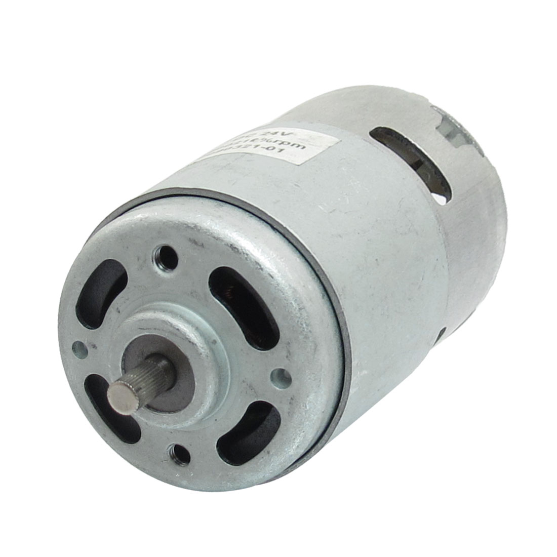 4600 RPM 24V High Torque Cylinder Magnetic Electric Mini DC Motor