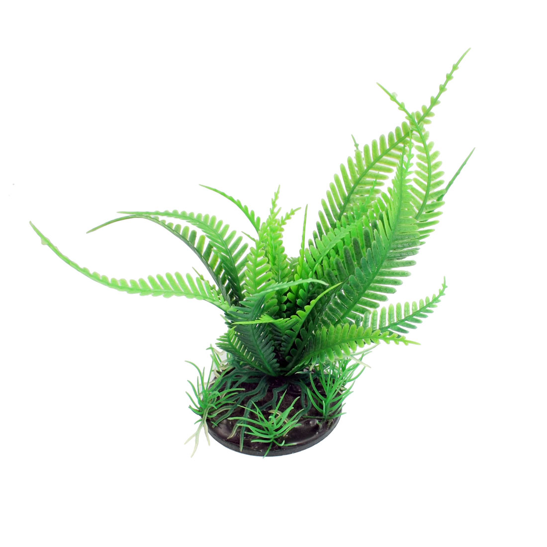 "5.1"" Height Green Fern Leaves Aquarium Aquascaping Simulation Plant Decoration"