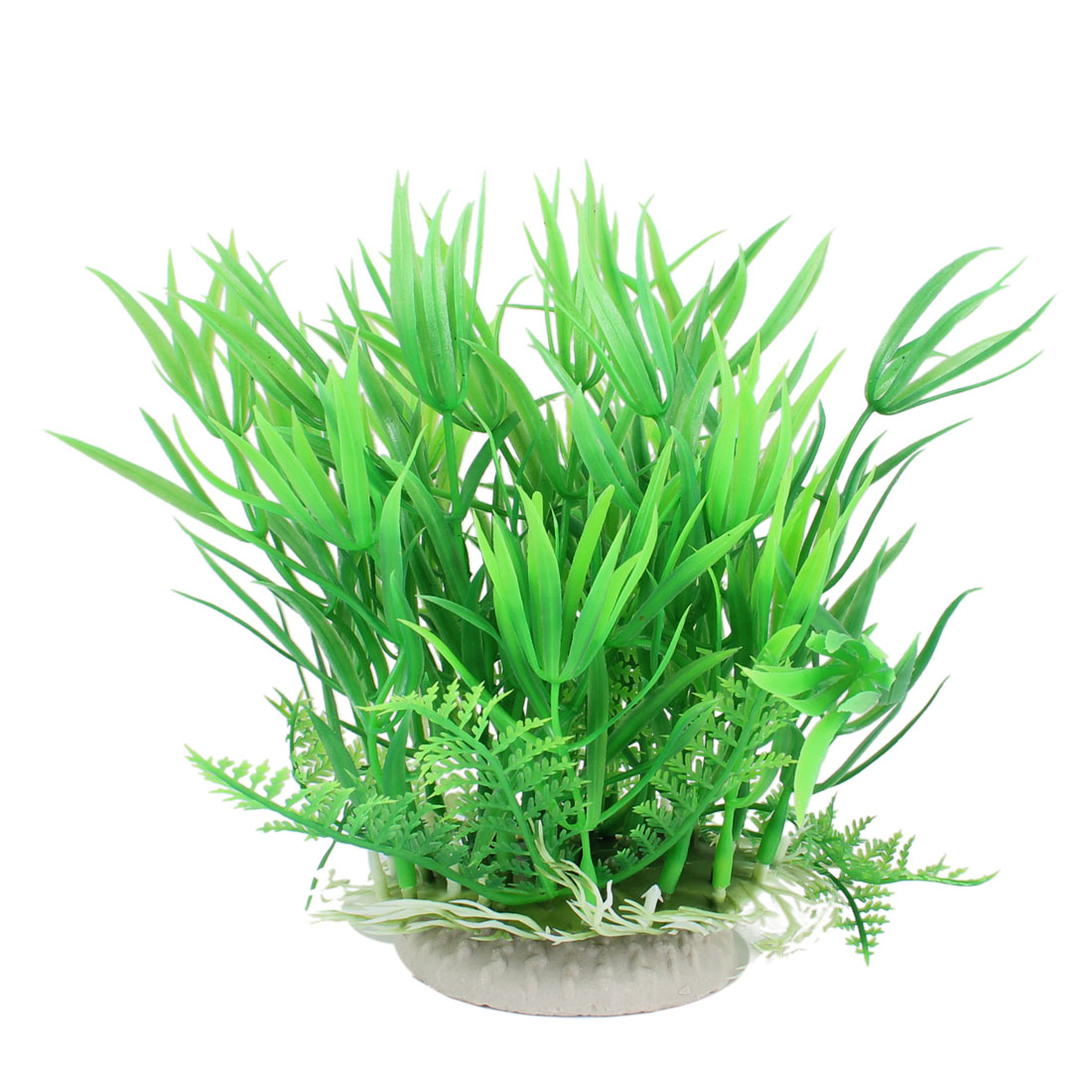 "5.9"" Height Green Leaves Aquarium Fish Tank Simulation Water Plant Decoration"