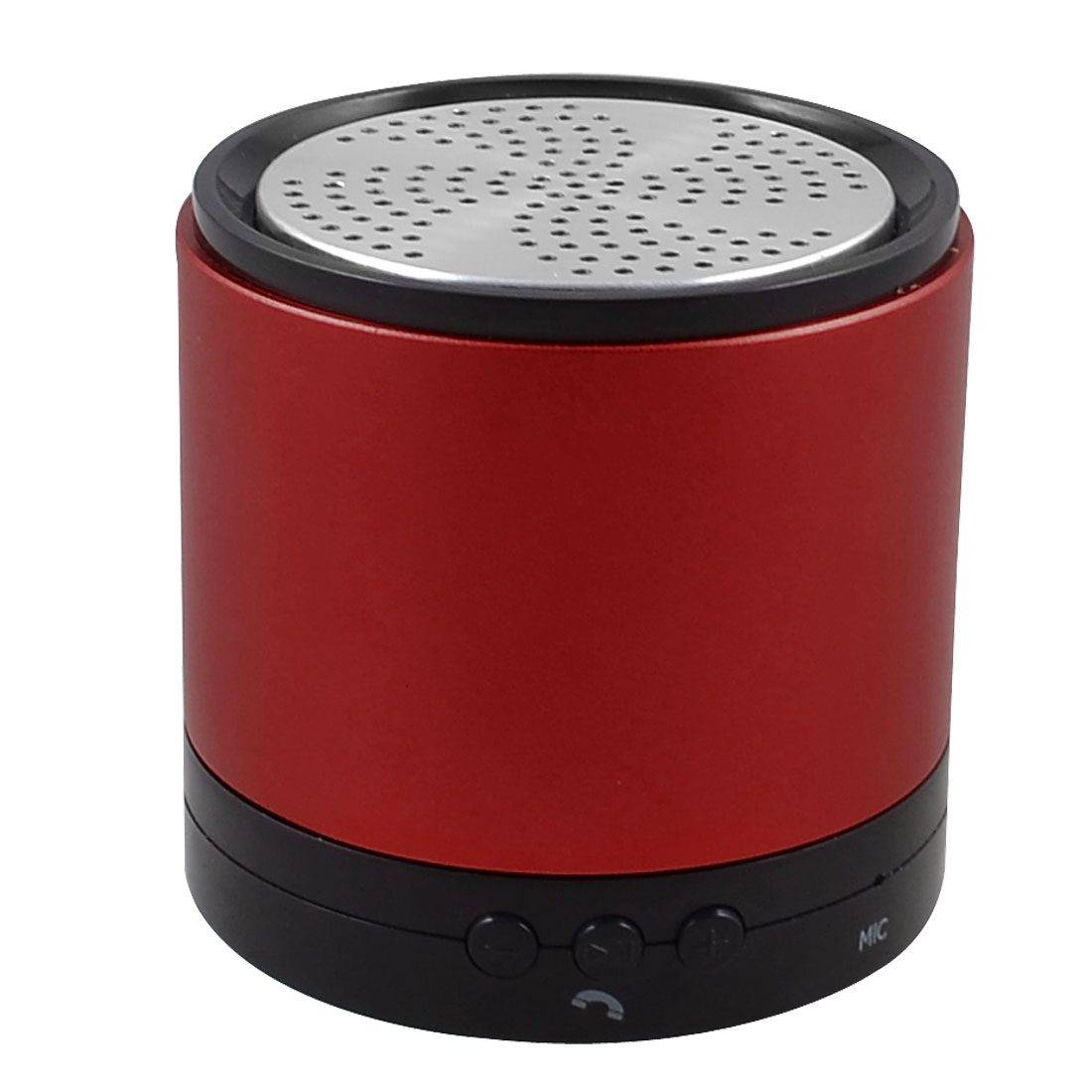 Red Aluminum Shell Rechargeable bluetooth Wireless Stereo Speaker