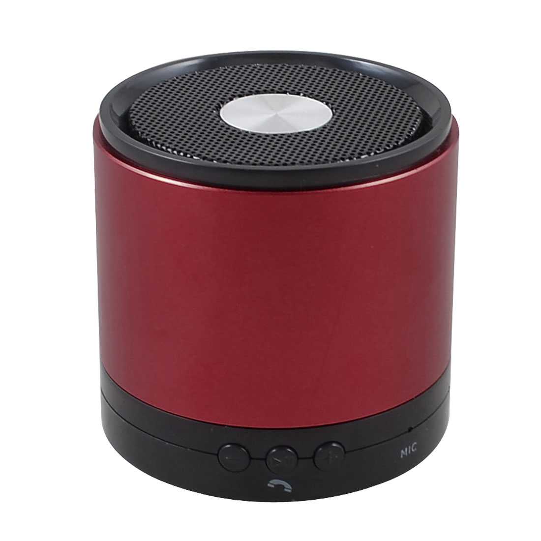 Red Wireless Rechargeable Stereo bluetooth Speaker Subwoofer