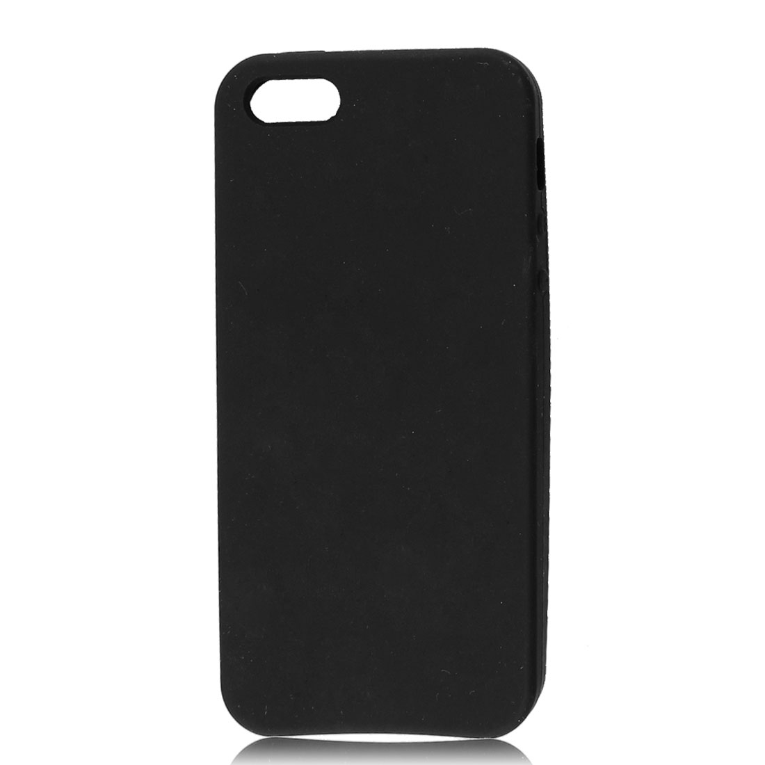 Black Soft Plastic Protective Cover Case for Apple iPhone 5 5G