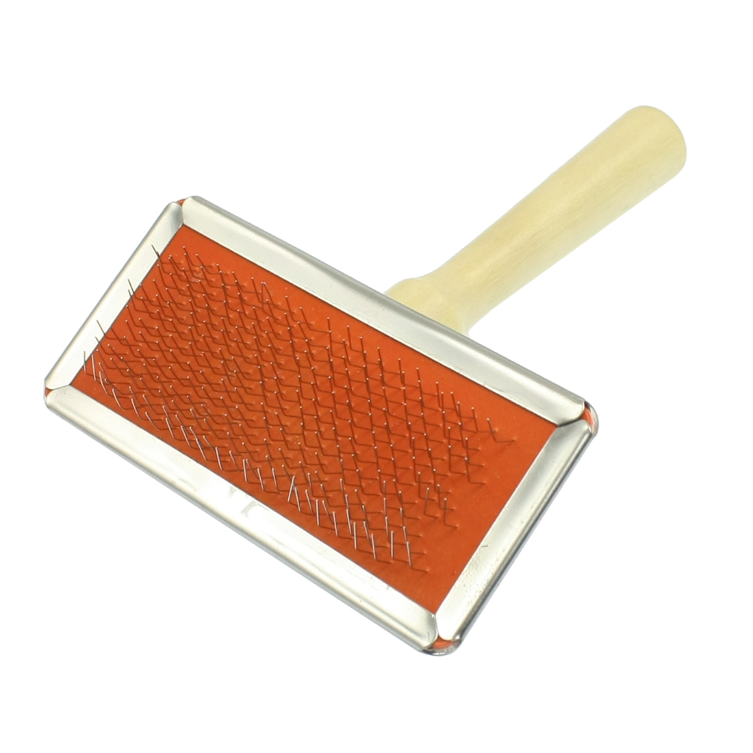 Wooden Handle Dog Pet Shedding Tool Grooming Hair Brush Comb