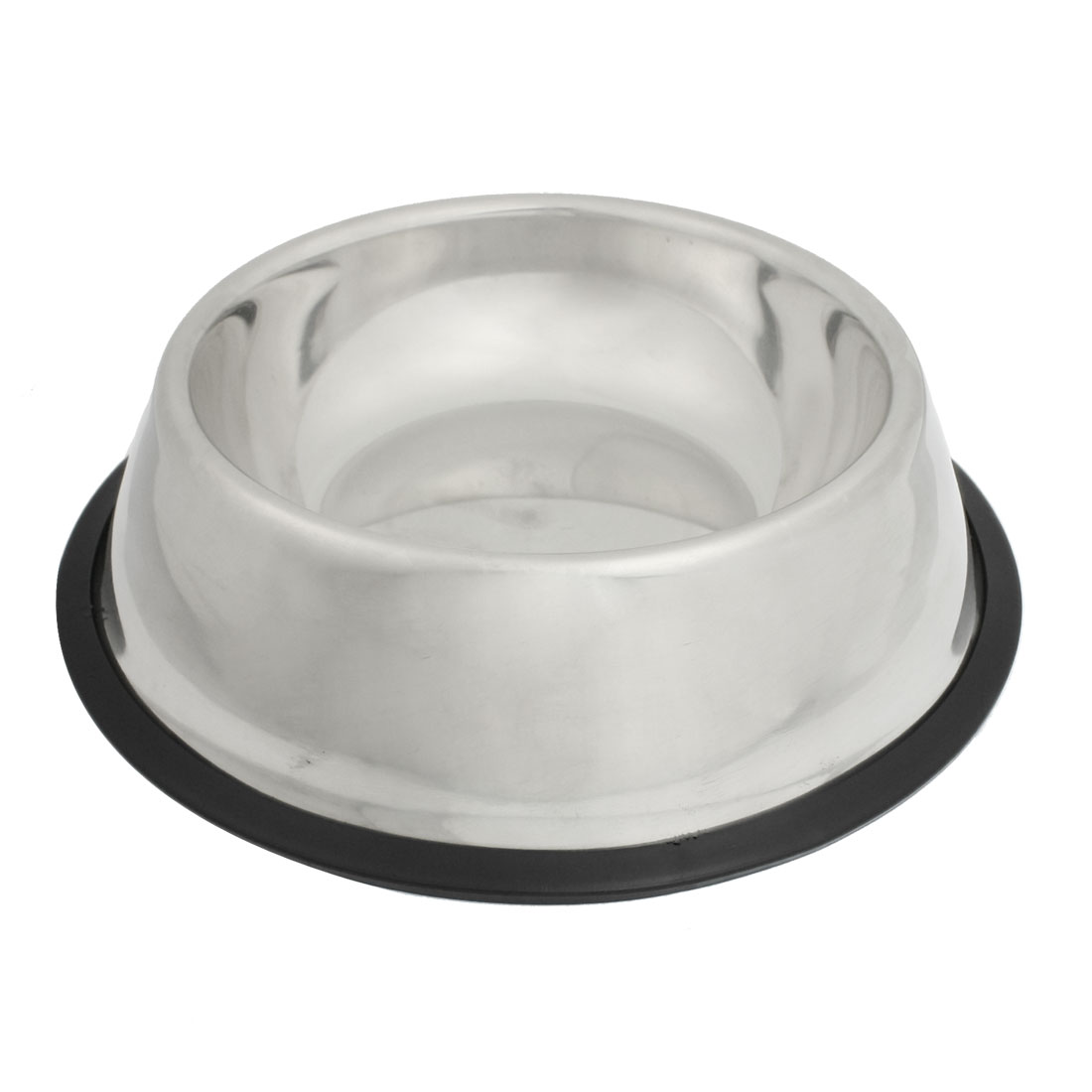 Doggy Dog Pet Stainless Steel Food Water Bowl Dish 8.5 inch