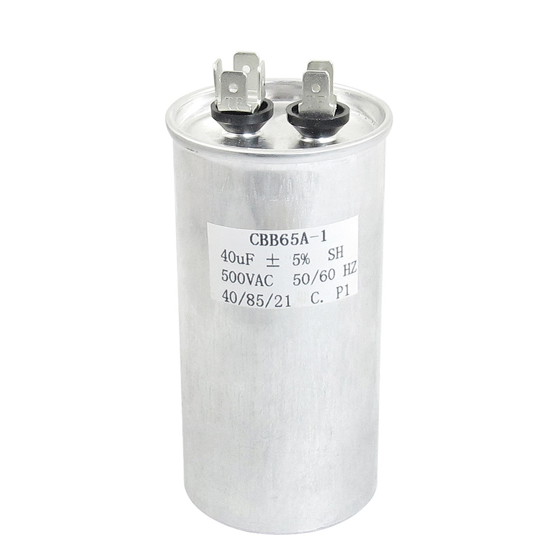 Air Conditioner Non Polar 40uF AC 500V 50/60Hz Motor Capacitor CBB65A-1
