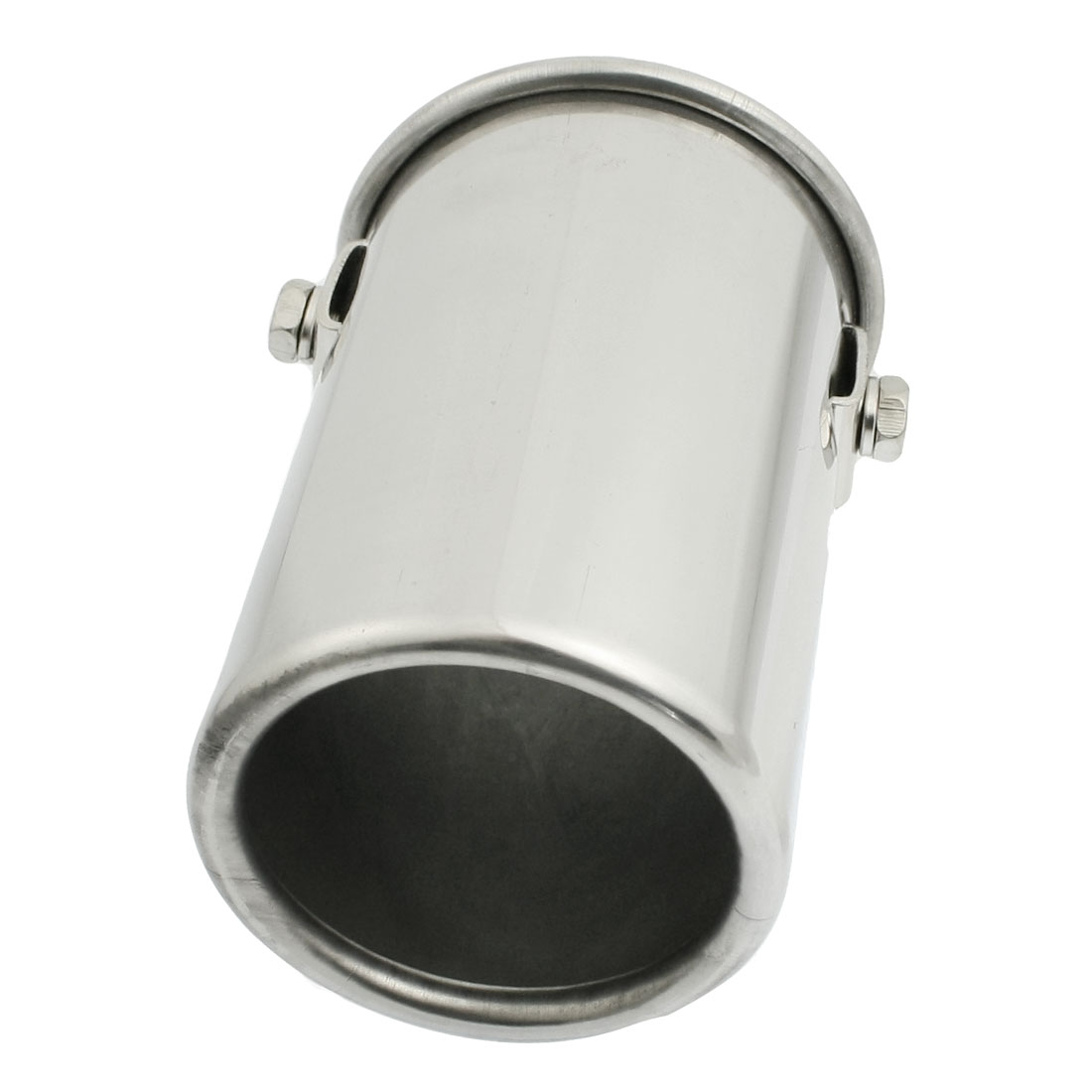 Stainless Steel Auto Car Exhaust Pipe Silencer Muffler Tip 51mm x 100mm