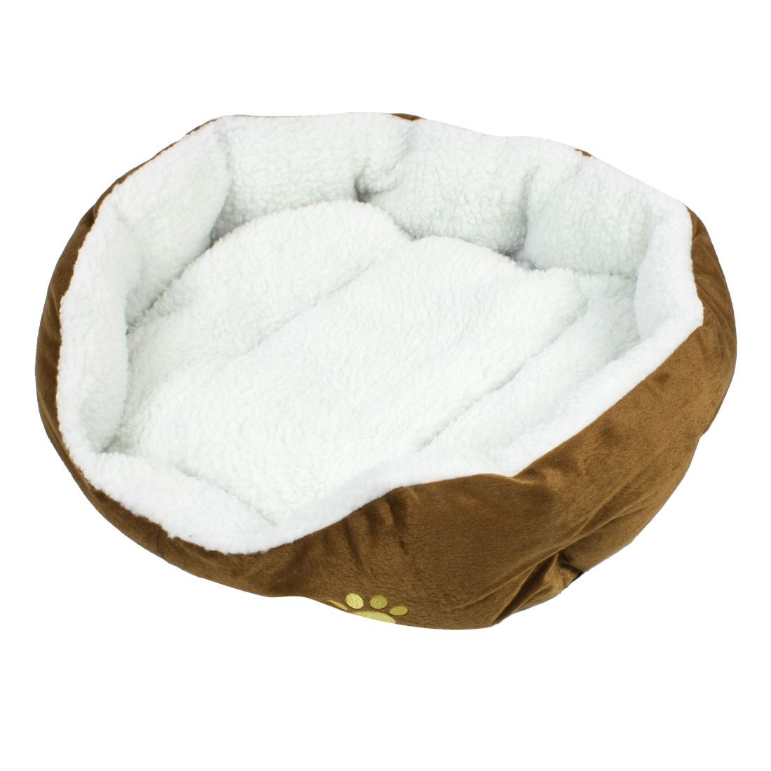 Indoor Warm Soft Fleece Pet Puppy Dog Cat Kitten Bed House Kennel 54x54cm