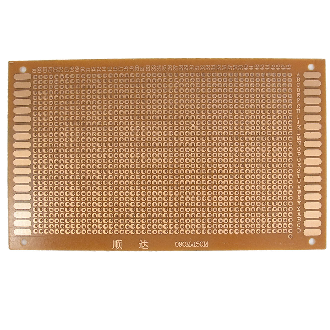 9cm x 15cm Panel Universal Single Side Copper PCB Board Copper Tone