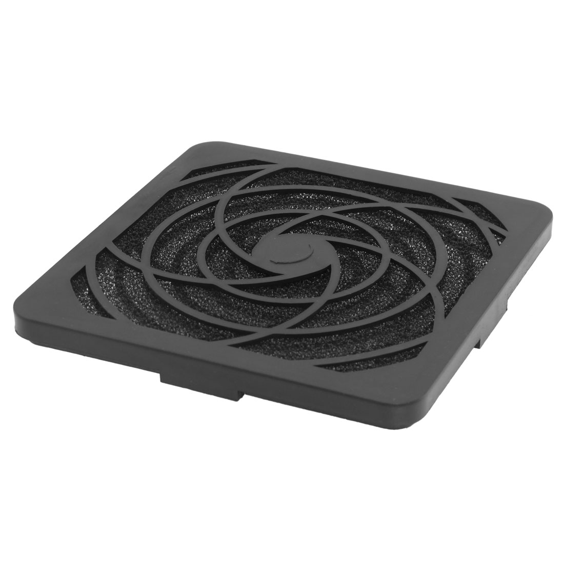 Black Plastic Square Dustproof Filter 105mm PC Case Fan Dust Guard Mesh
