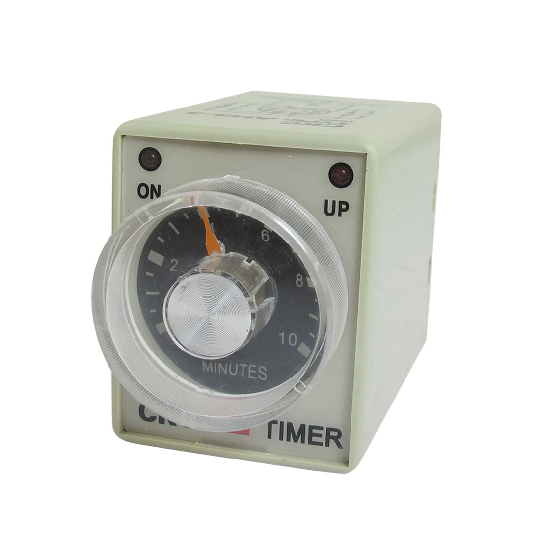 AC 110V 0-10 Minutes 10m Plastic Housing Delay Timer Time Relay 8 Pin AH3-3