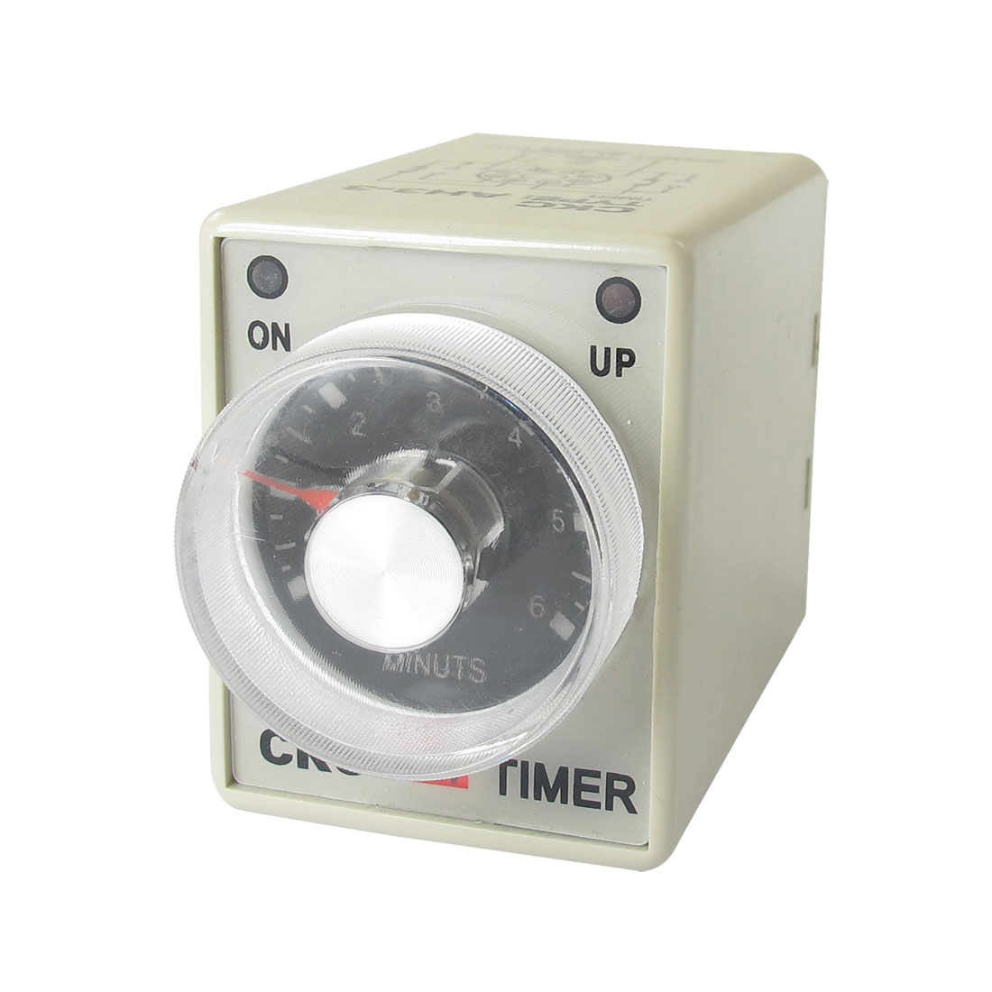 DC 12V 0-6 Minutes 6m Plastic Housing Delay Timer Time Relay 8 Pin AH3-3