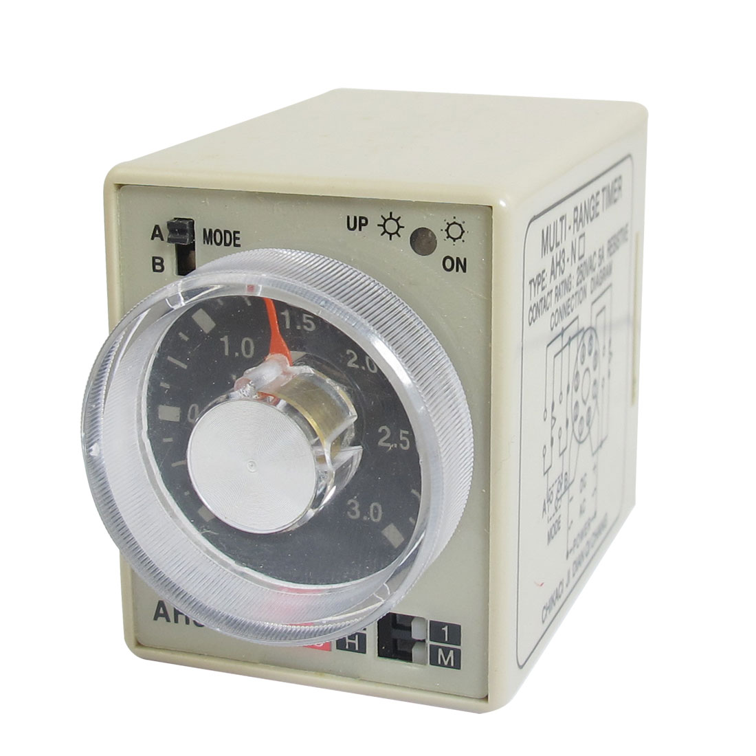 AH3-NE Resistive Load Delay Timer Time Relay 8P 30h 0-30h 220V AC