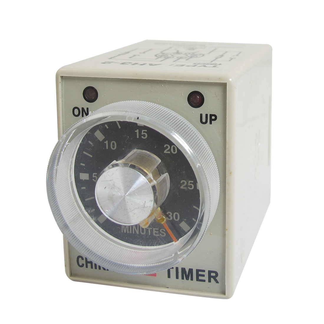 AC 220V 0-30 Min 30 Minutes Delay Timer Timing Relay AH3-2 w 8 Pin