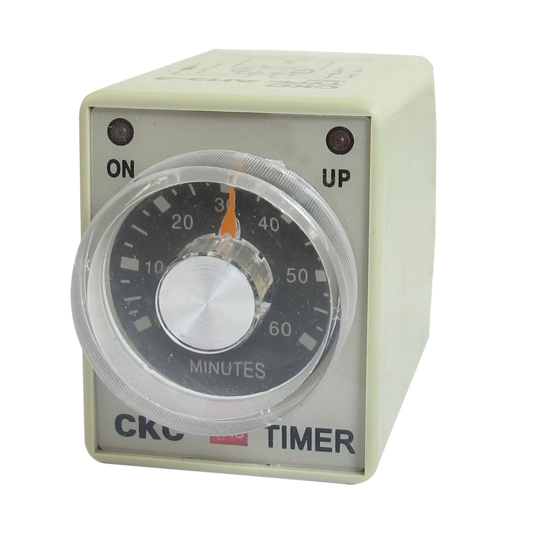110V AC 60Min 0-60m DPDT 8 Pin 8P Terminals Delay Timer Time Relay AH3-3
