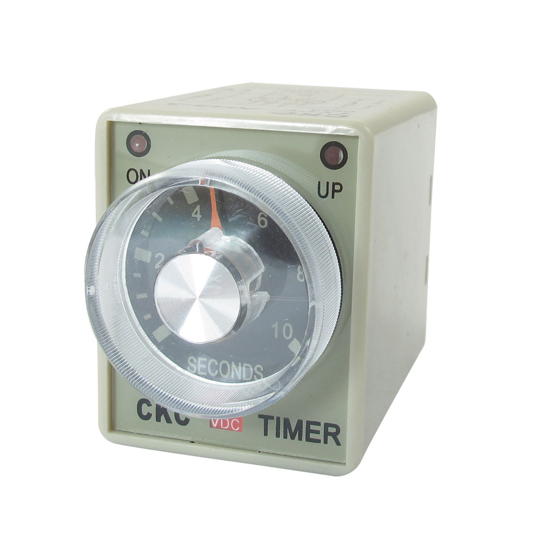 DC 12V 0-10 Seconds 10s Plastic Housing Delay Timer Time Relay 8 Pin AH3-3