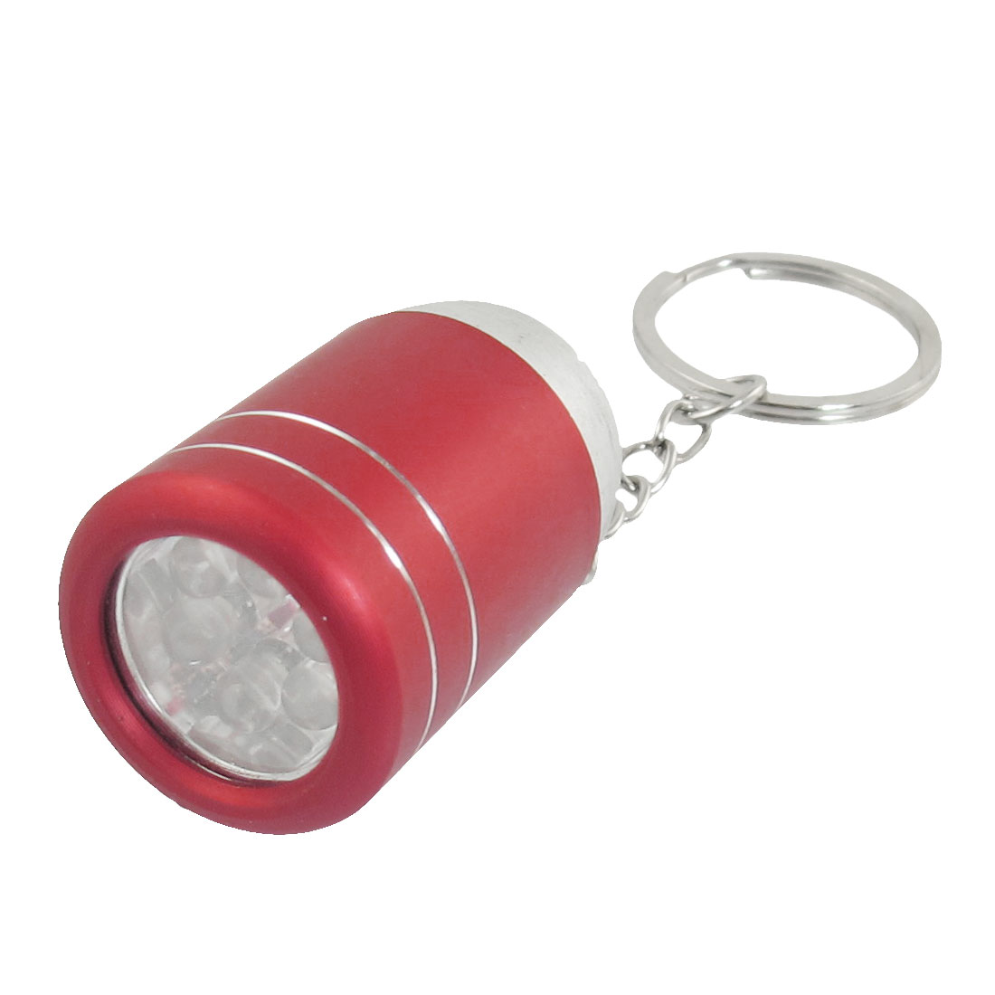 Portable Red Wine Bucket Design Pendant LED Flashlight Key Chain