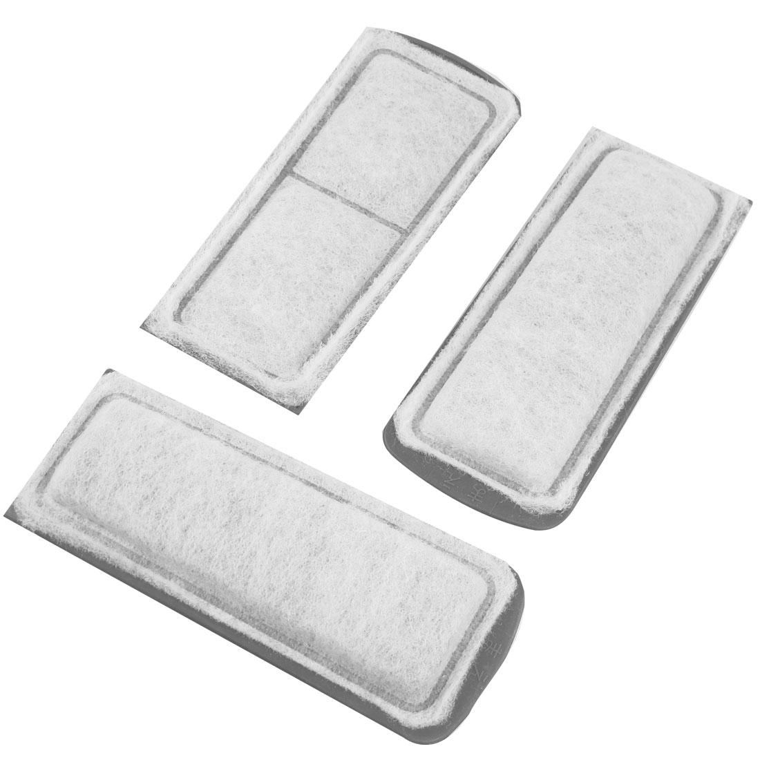 3 Pcs White Gray Recycling Biochemical Filter Sponges Pad for Fish Aquarium