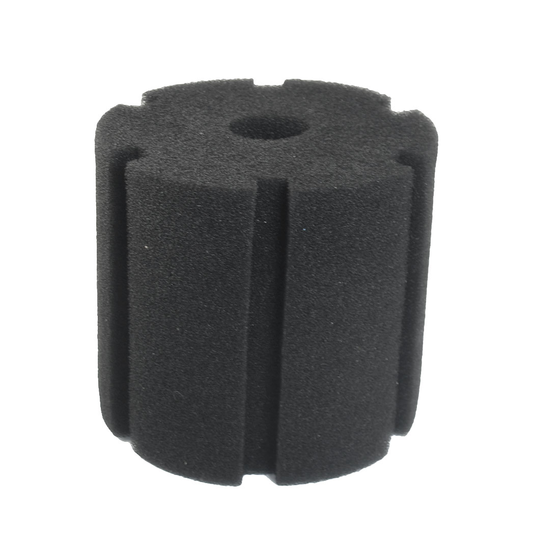 "Black 4.5"" Height Cylinder Sponge for Aquarium Water Filter"