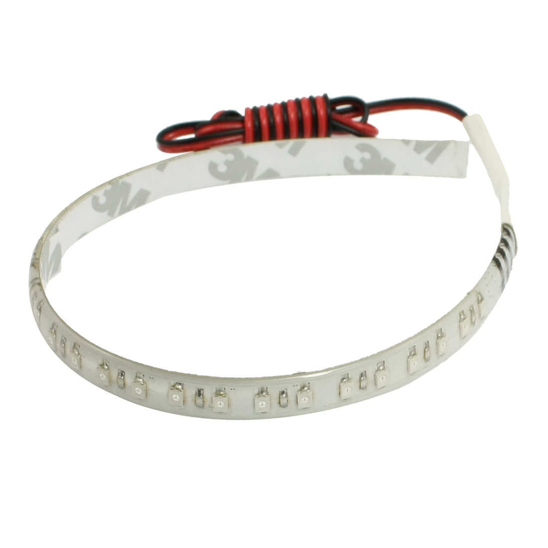 Car Green SMD 32 LED Flexible Strip Bar Light Lamp DC 12V 30cm internal