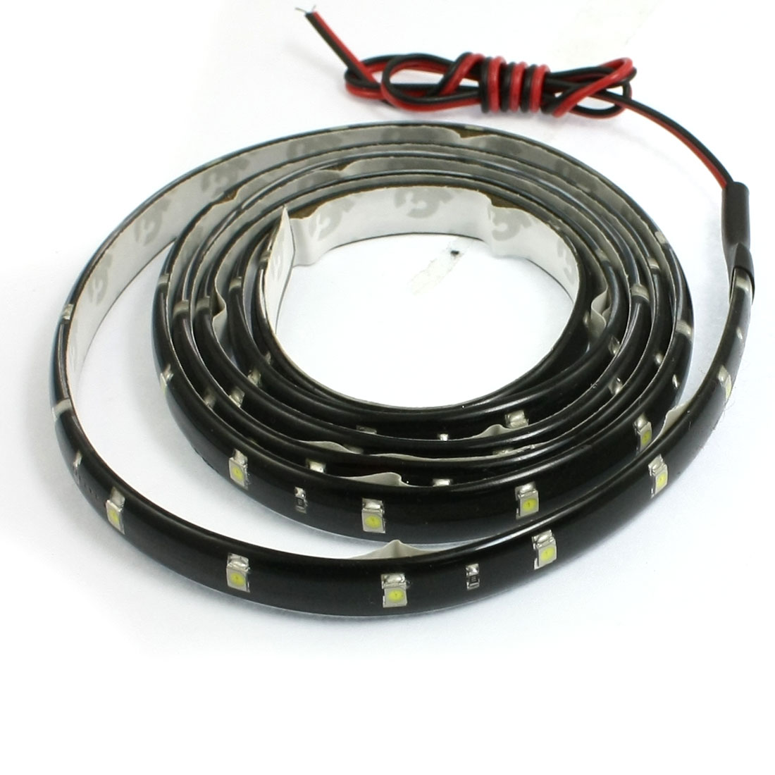 Car Auto DC 12V White 1210 3528 SMD 60-LED Strip Light Lamp 120cm internal