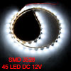 Car Auto DC 12V White 1210 3528 SMD 45 LEDs Light Lamp 45cm