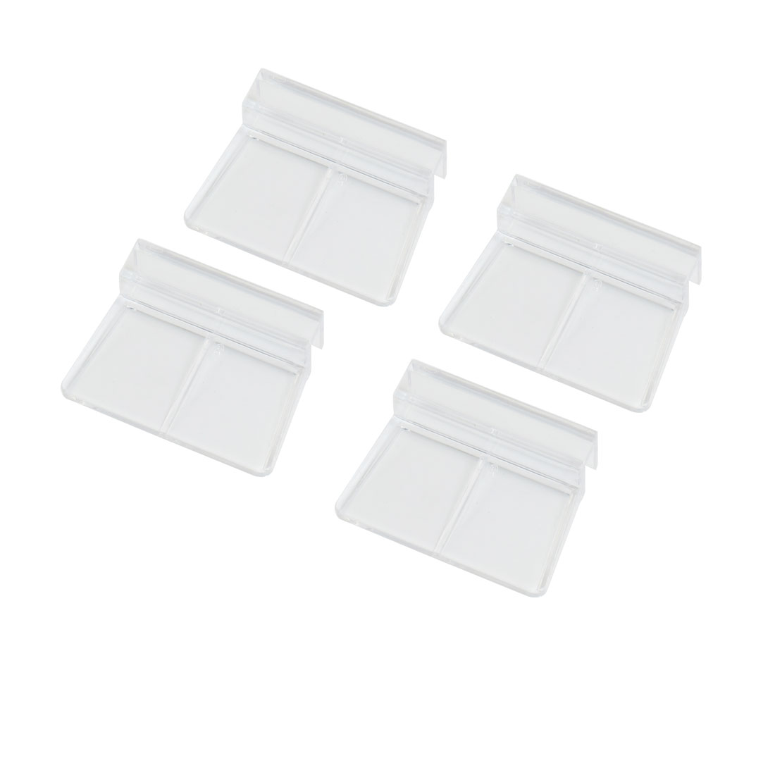 4 Pack Aquarium Fish Tank Glass Cover Clip Support Holder 6mm
