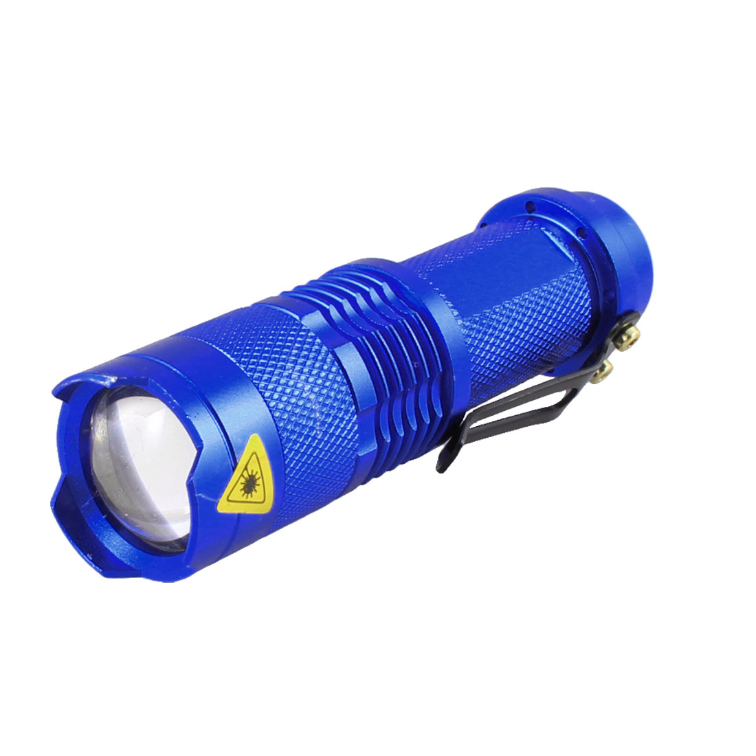 Blue Pen Shape Handhold 100 Lumens White Light LED Flashlight for Climbing